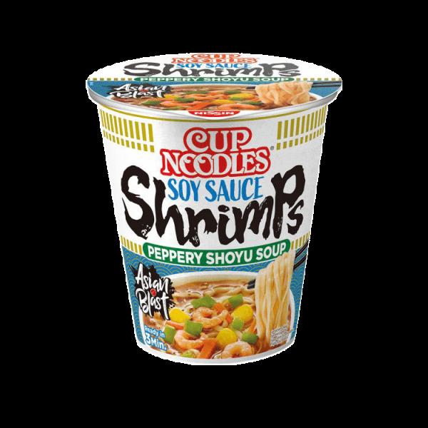 Cup Noodles лапша быстрого приготовления с креветками