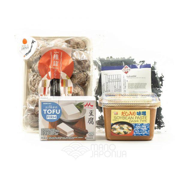 Mano Japonija rinkinys - Miso sriuba