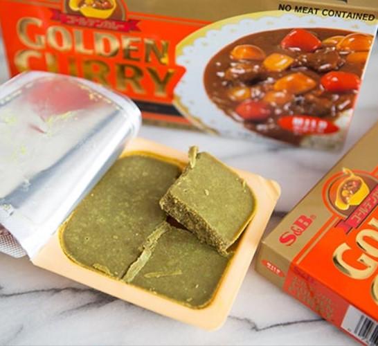 kari curry padažo kubeliai