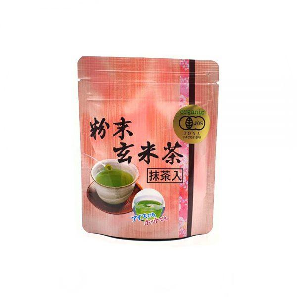 Matcha ir skrudintų ryžių arbata