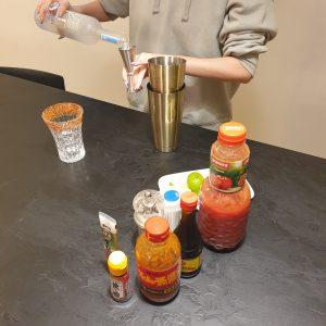 Kimchi Bloody Mary