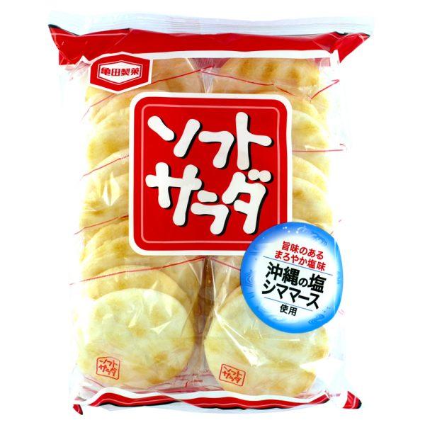 Sūrūs japoniški ryžių krekeriai SOFT SALAD