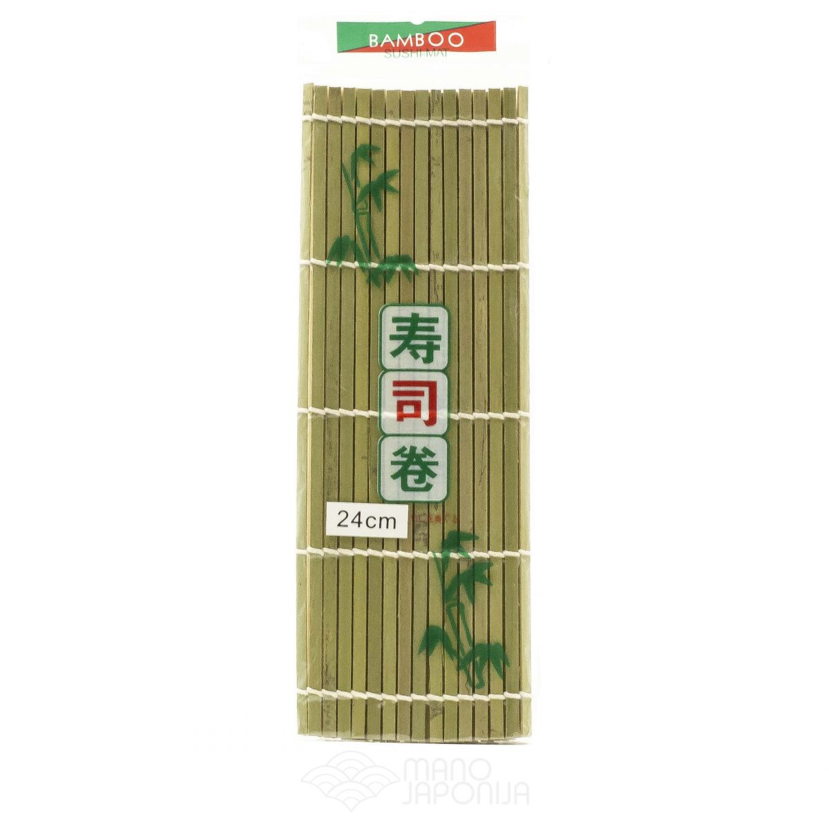 Bambukunis suši gaminimo kilimėlis 24cm