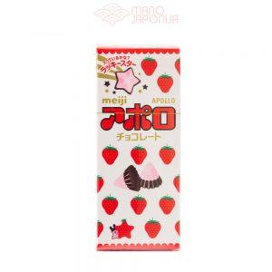 Japoniški APOLLO šokoladiniai saldainiai