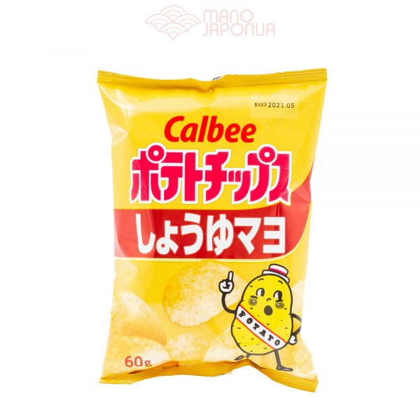 Japoniški bulvių traškučiai su majonezu ir soja