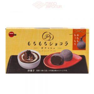 Japoniški šokoladiniai mochi saldainiai