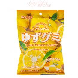 Japoniški yuzu skonio guminukai