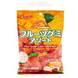 Japoniški tropinių vaisių asorti guminukai