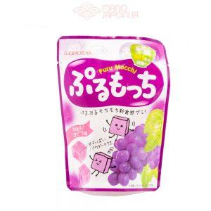 Vynuogių skonio mochi guminukai