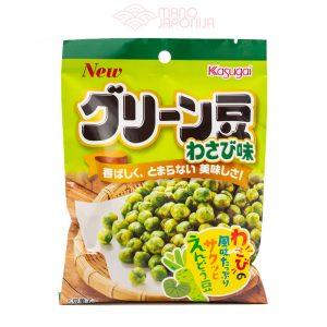 Japoniški Kasugai Wasabi žalieji žirniai