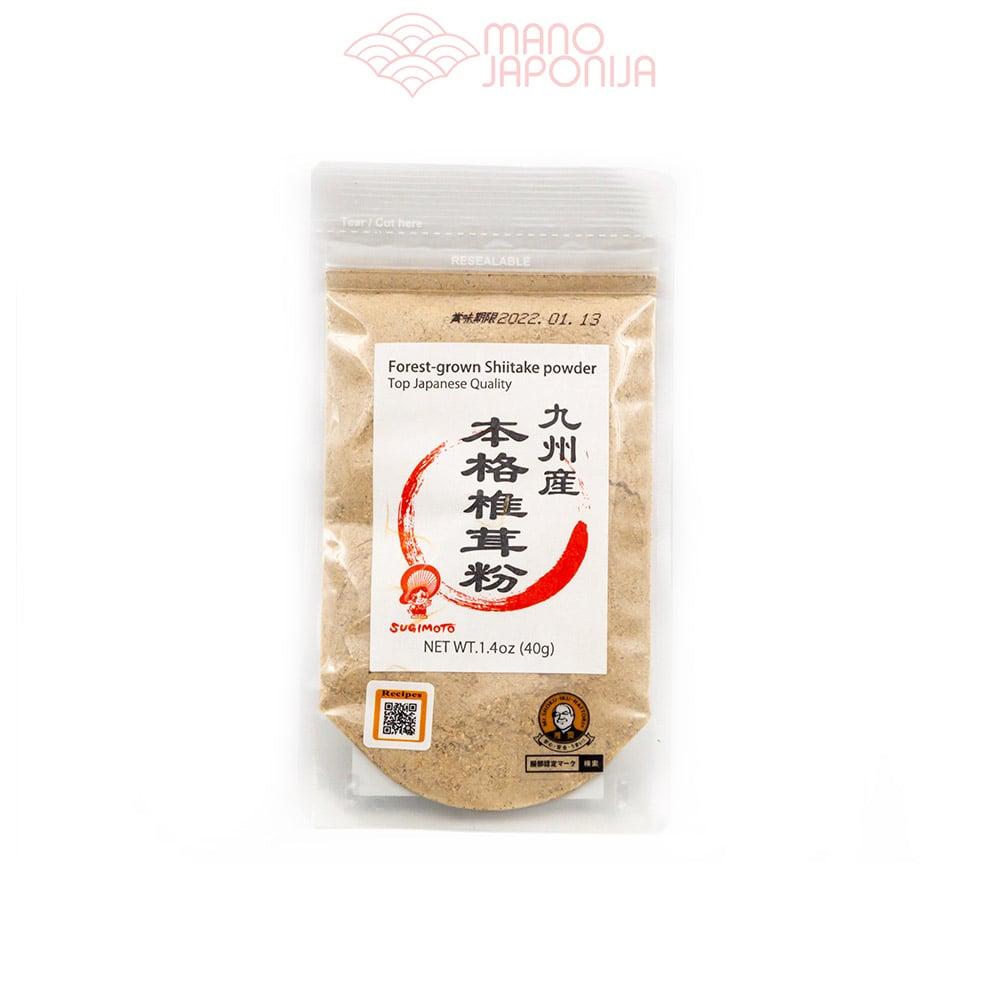 Japoniškų Shiitake grybų pudra